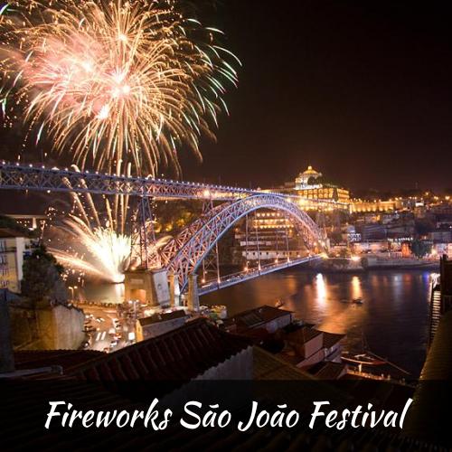 Fireworks São João Festival