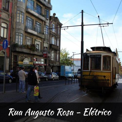 Rua Augusto Rosa - Elétrico